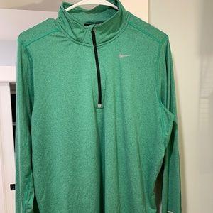 Men's Nike quarter zip long sleeve shirt size Med